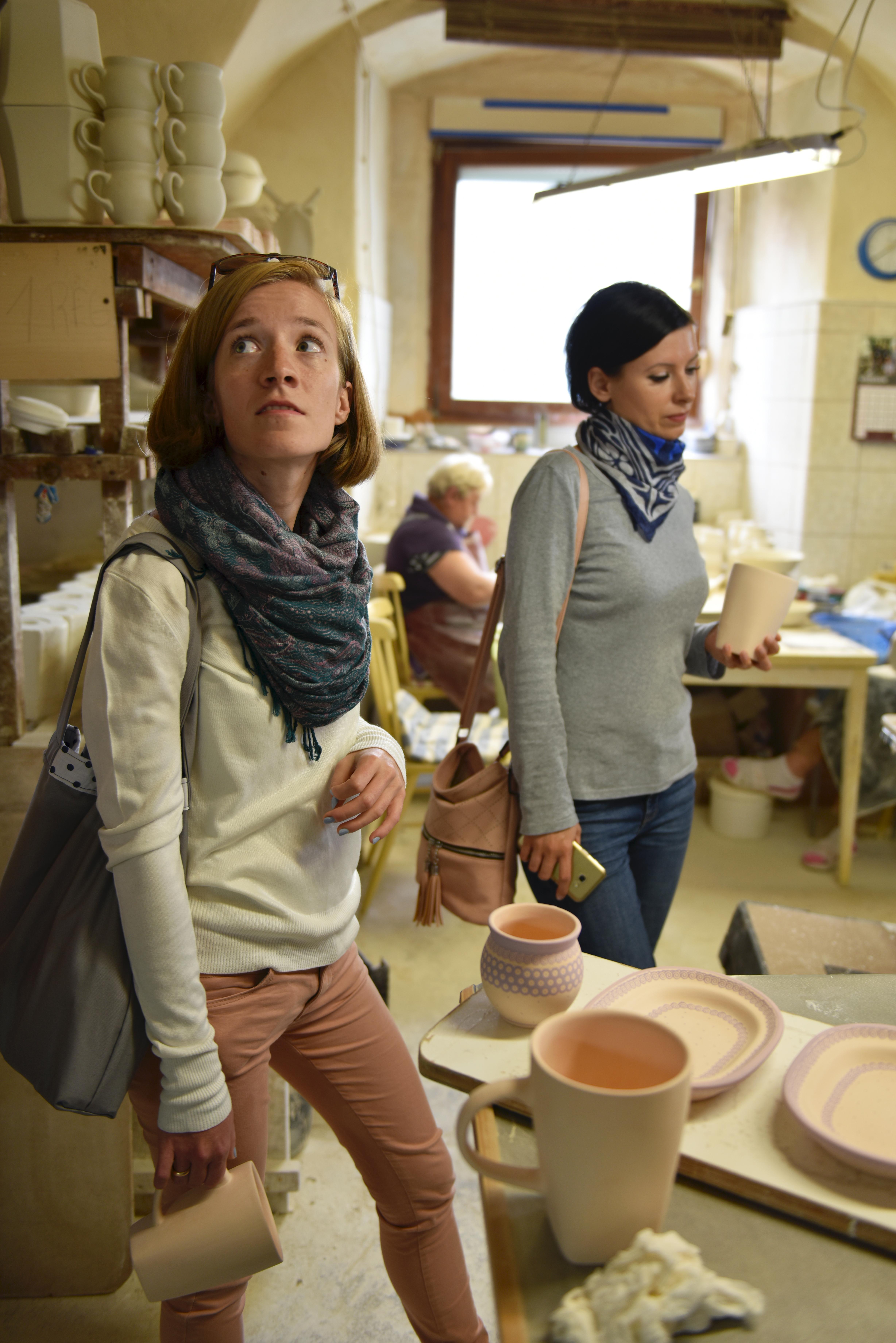 Podziwiamy pracownie ceramiczną